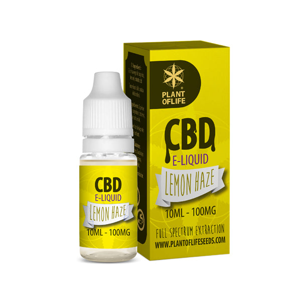 E-liquid LEMON HAZE 100 mg de CBD