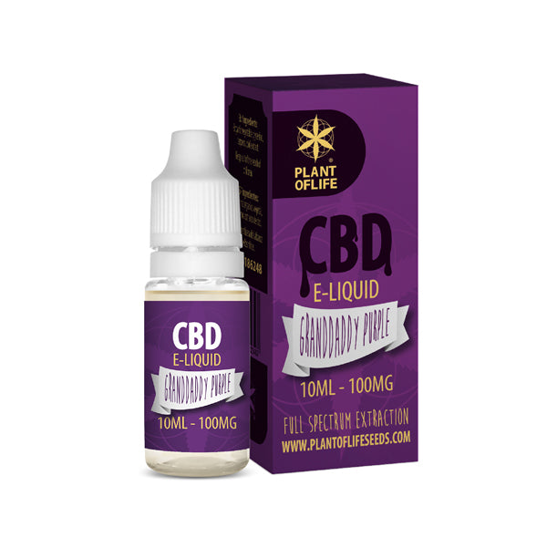 E-liquid PURPLE HAZE 100 mg de CBD