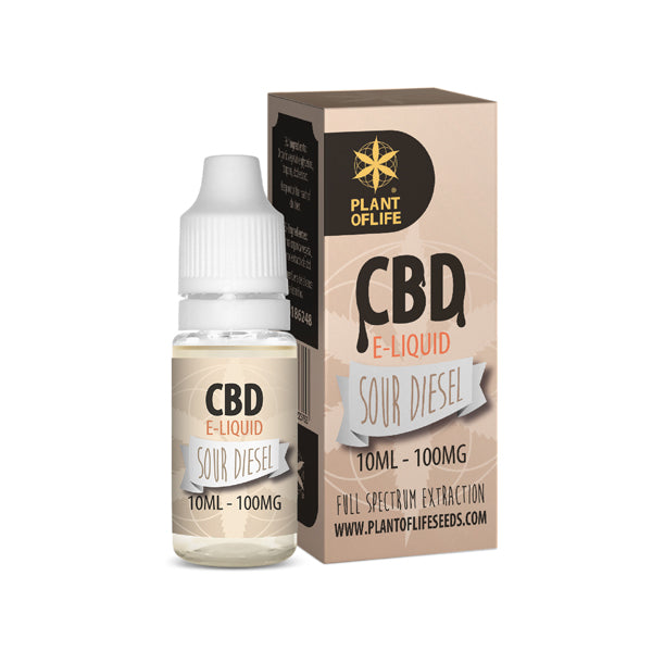 E-liquid SOURDIESEL 100 mg de CBD