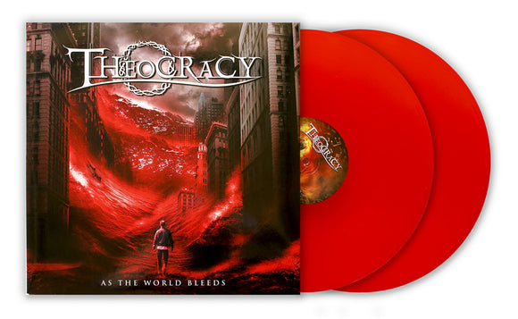 Theocracy - As The World Bleeds (2LP edition transparent red discs)