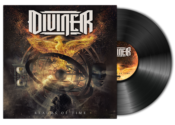 Diviner - Realms of Time (LP edition black disc)