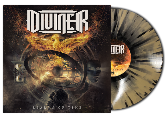 Diviner - Realms of Time (LP edition gold/black splatter disc)