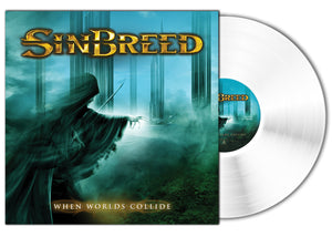 Sinbreed - When Worlds Collide (LP edition white disc) - PRE-ORDER