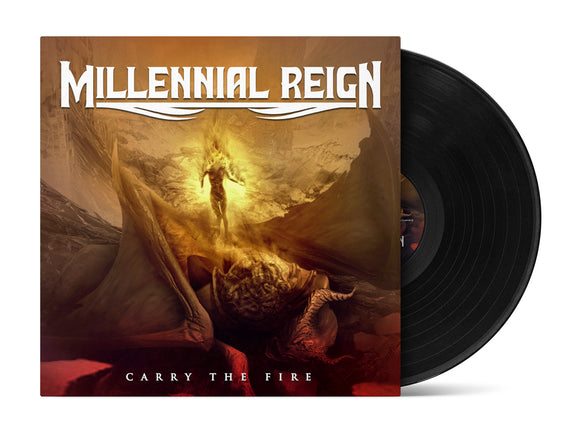Millennial Reign - Carry The Fire (LP edition black disc)