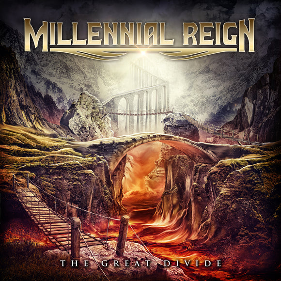 Millennial Reign - The Great Divide (CD edition)