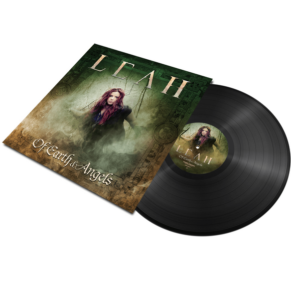 Leah - Of Earth & Angels (LP edition black disc)