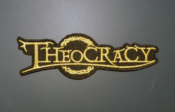 Theocracy logo patch