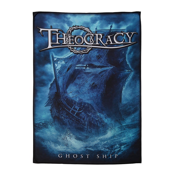 Theocracy - Ghost Ship textile flag