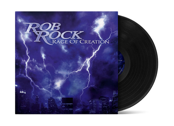 Rob Rock - Rage of Creation (LP edition black disc)