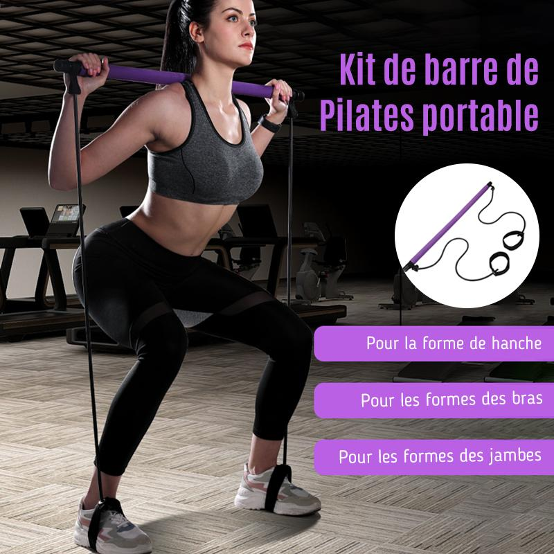 Ciaovie™ Kit de Barre de Pilates Portable - ciaovie