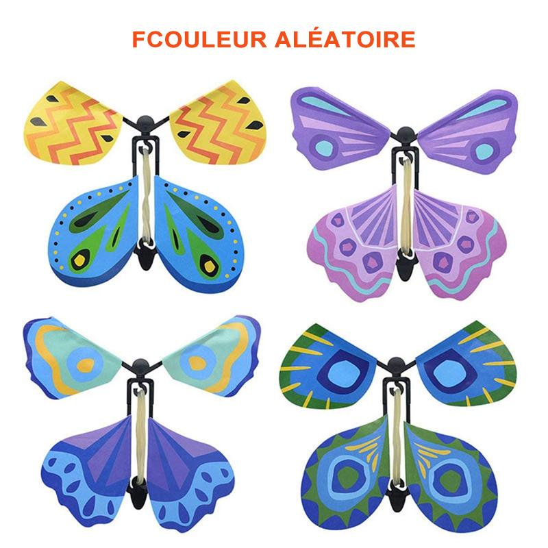 Creative Magic Props Jouets pour enfants Flying Butterflies - ciaovie