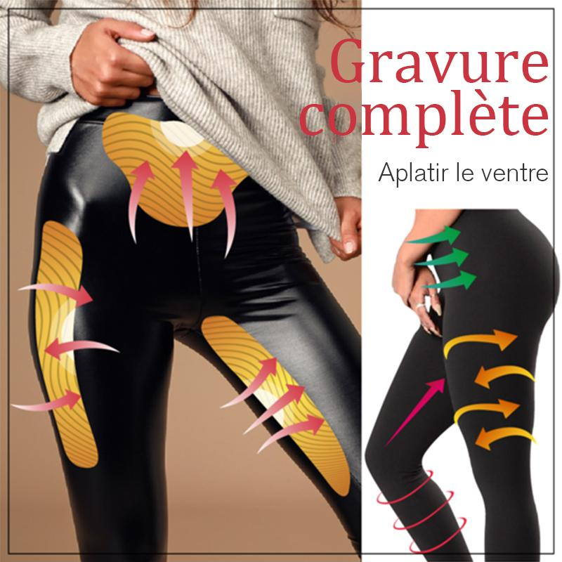 Shaper en similicuir Stretch-Fit - ciaovie