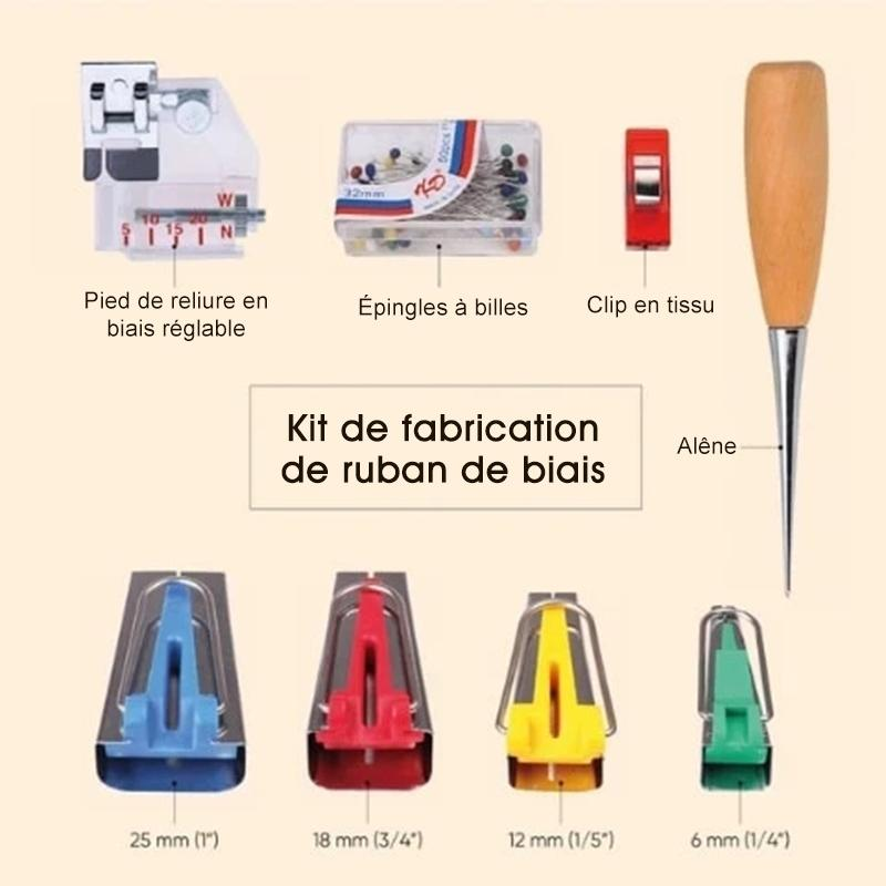 Kit de Fabrication de Ruban de Biais
