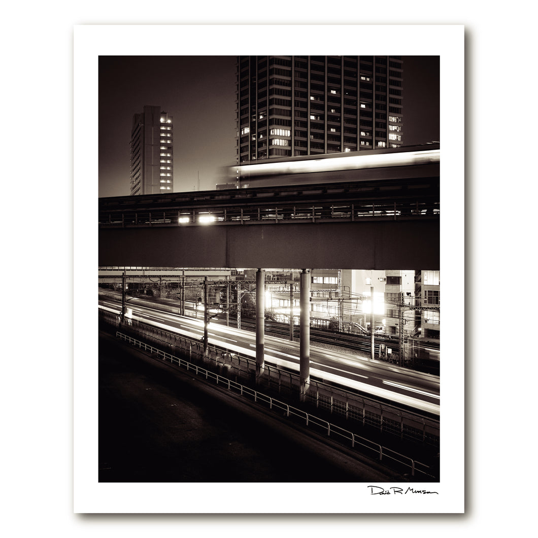Dozen Editions № 5: Trains Passing At Hamamatsucho Station
