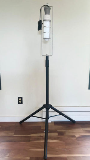 Commercial Grade UVC Light Fixture with Remote Control and Tripod Bundle