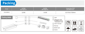 Hybrid LED/UVC Sterilizing Light with Air-flow Management System