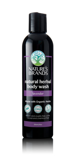 Shorters Organic Herbal Body Wash, Lavender (236ml)