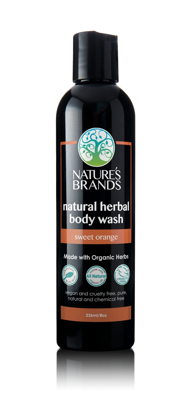 Shorters Organic Herbal Body Wash, Sweet Orange (236ml)