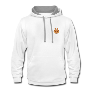 PancakeSwap Fan Hoodie - white/gray