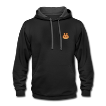 Load image into Gallery viewer, PancakeSwap Fan Hoodie - black/asphalt