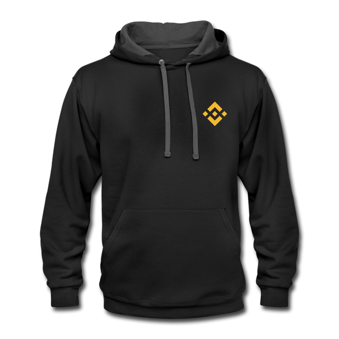 Binance Fan Hoodie - black/asphalt
