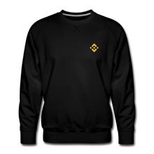 Load image into Gallery viewer, Binance Crew Neck - black