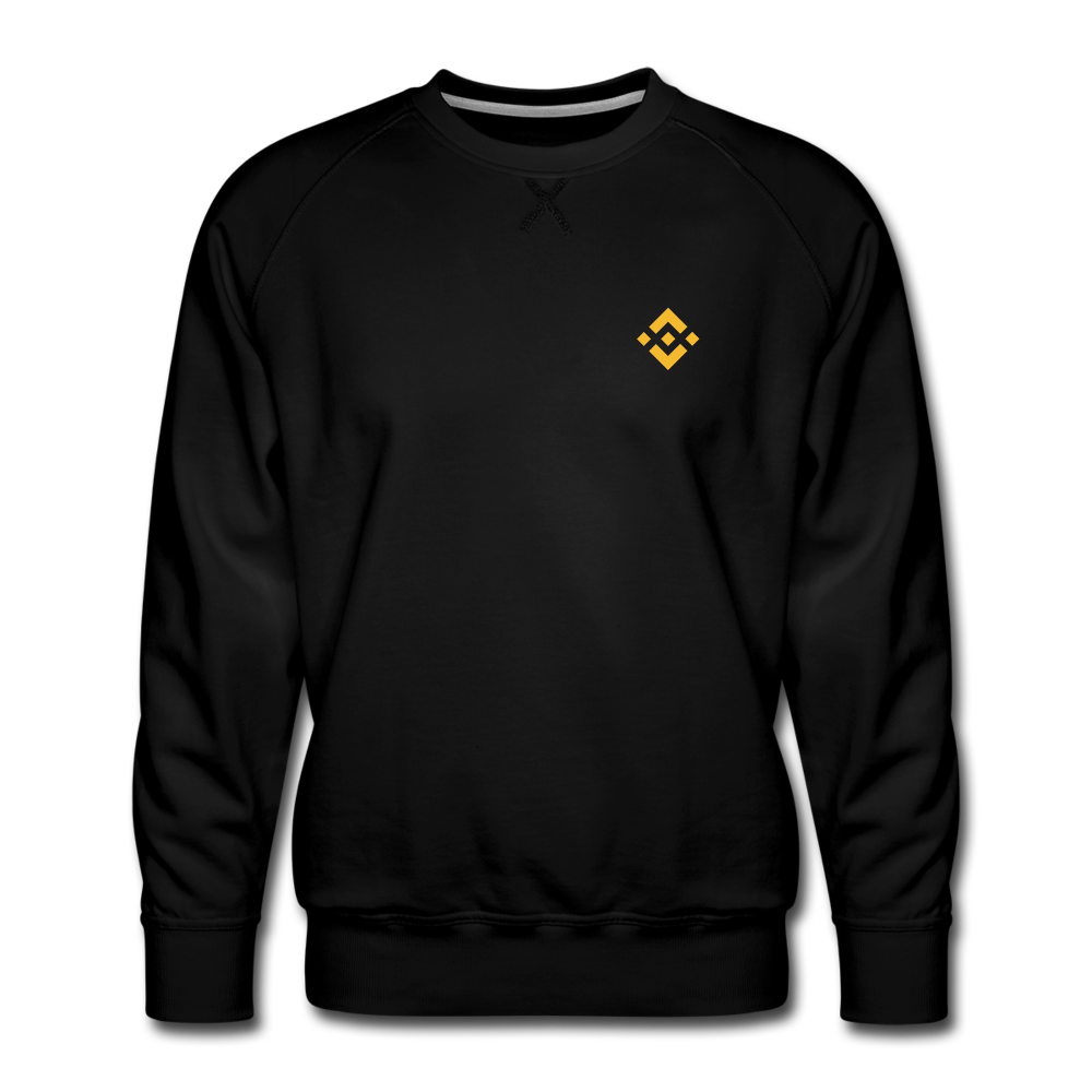 Binance Crew Neck - black