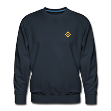 Load image into Gallery viewer, Binance Crew Neck - navy