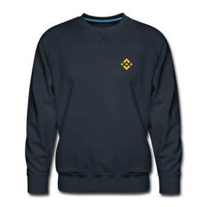 Binance Crew Neck - navy