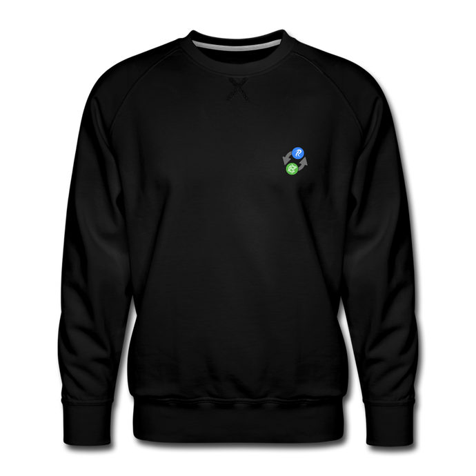 Centric Fan Crew Neck - black