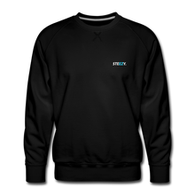 Load image into Gallery viewer, STEEZY. Founders Edition Crew Neck - black