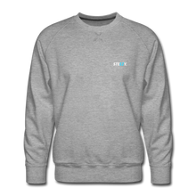 Load image into Gallery viewer, STEEZY. Founders Edition Crew Neck - heather gray