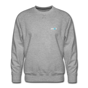 STEEZY. Founders Edition Crew Neck - heather gray