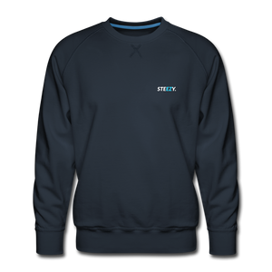 STEEZY. Founders Edition Crew Neck - navy