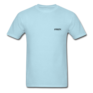 STEEZY. Shirt - powder blue