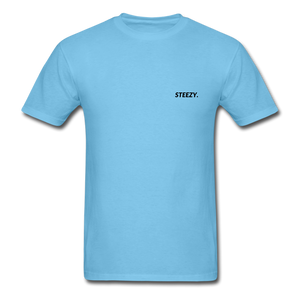 STEEZY. Shirt - aquatic blue