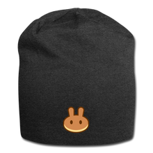 Load image into Gallery viewer, PancakeSwap Beanie - charcoal gray