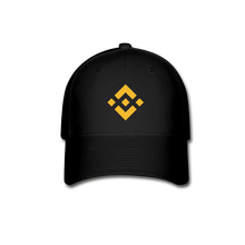 Load image into Gallery viewer, Binance Baseball Cap - black