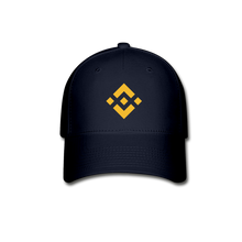 Load image into Gallery viewer, Binance Baseball Cap - navy