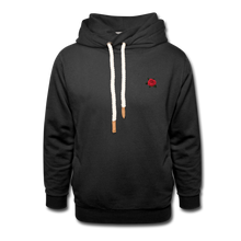 Load image into Gallery viewer, Rose Hoodie - black