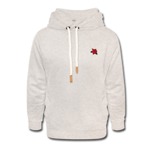 Load image into Gallery viewer, Rose Hoodie - heather oatmeal