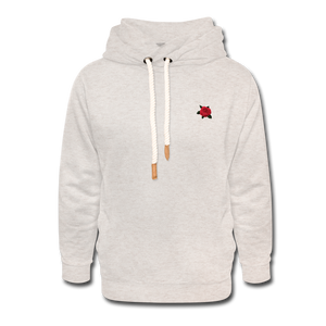 Rose Hoodie - heather oatmeal