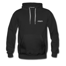 Load image into Gallery viewer, STEEZY. Heavyweight Hoodie - black