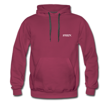 Load image into Gallery viewer, STEEZY. Heavyweight Hoodie - burgundy