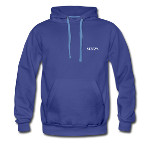 STEEZY. Heavyweight Hoodie - royalblue