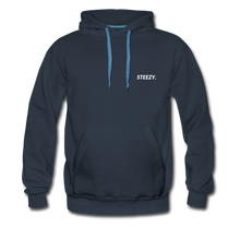 Load image into Gallery viewer, STEEZY. Heavyweight Hoodie - navy
