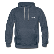 Load image into Gallery viewer, STEEZY. Heavyweight Hoodie - heather denim