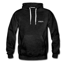 Load image into Gallery viewer, STEEZY. Heavyweight Hoodie - charcoal gray