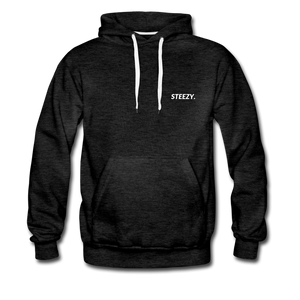 STEEZY. Heavyweight Hoodie - charcoal gray