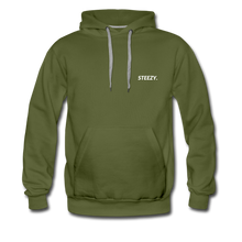 Load image into Gallery viewer, STEEZY. Heavyweight Hoodie - olive green